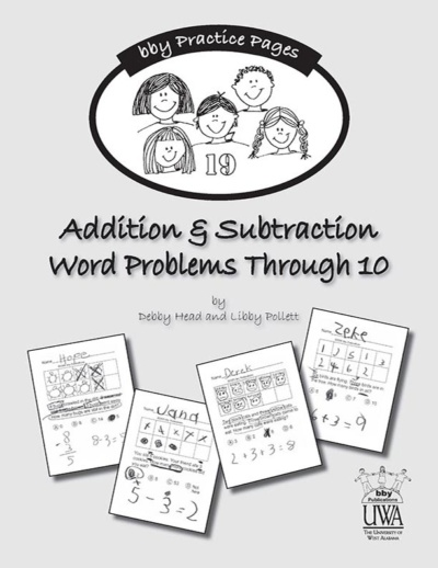 Addition Subtraction Word Problems Bby Publications